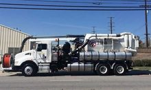 2012 KENWORTH T440 Sewer flushe