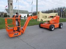 2008 JLG E450AJ Booms