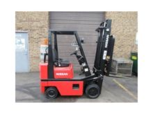 1990 NISSAN CPH01A15V Forklifts