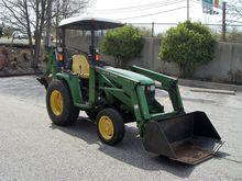 2002 JOHN DEERE 430 Tractors
