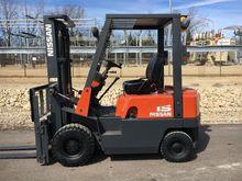 2001 NISSAN PJ02A25 Forklifts