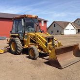1986 JCB 1400B Backhoe loader