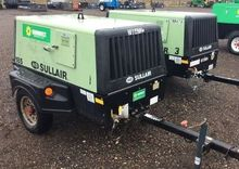 2008 SULLAIR 185DPQJD Air compr
