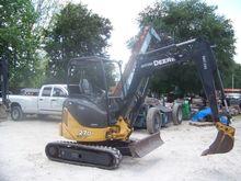 2012 DEERE 27D Excavators