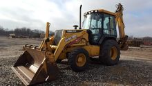 2000 DEERE 410E Backhoe loader