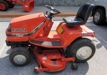 KUBOTA G1900S Riding lawn mower