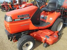 1998 KUBOTA TG1860 Riding lawn