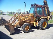 1986 CASE 580E Backhoe loader