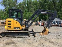 2015 DEERE 50G Excavators