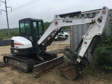 2015 Bobcat E50 T4 Excavators
