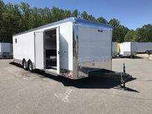 IN STOCK RACE TRAILERS Enclosed