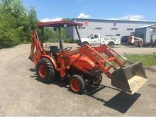 2001 KUBOTA b21 Backhoe loader