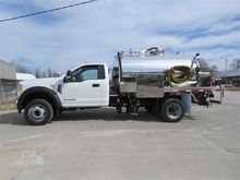 2017 FORD F550 Sewer flusher