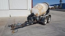 CONCRETE MIXER TRAILER CONCRETE