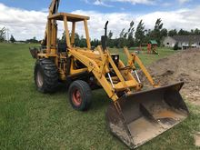 1973 CASE 580B Backhoe loader
