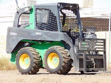 2015 DEERE 318D WITH ATTACHMENT