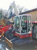 2014 Takeuchi TB138FR Excavator