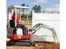 2014 Takeuchi TB108 Excavators