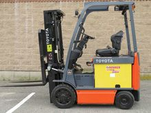 2010 Toyota 8FBCU20 Forklifts