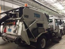2016 Tymco 600 Conventional Cab