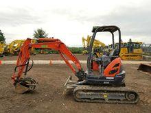 2013 Kubota U25S Excavators