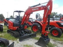 2017 KUBOTA KX040-4 Excavators