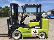 2015 Clark CGC40 Forklifts