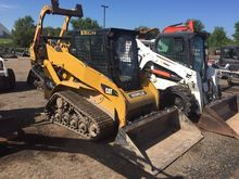 2012 CATERPILLAR 257B3 Skid ste