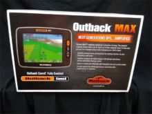 OUTBACK Attachment Gps machine