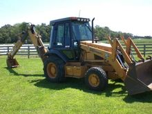 CASE 580SL Backhoe loader
