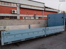 Used Scania flatbed