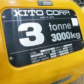 Kito 3 Ton Electric Hoist