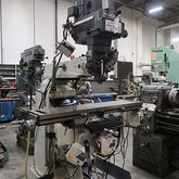 Modern 3V Milling Machine and T