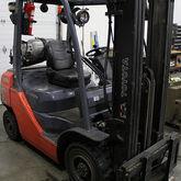 Toyota 8FGU25 Forklift (2008)