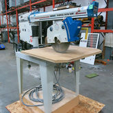 OMGA Radial Arm Saw 5hp, 11amp
