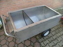 Horsmans RVS voerwagen
