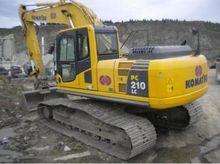 2006 Komatsu PC210LC-8