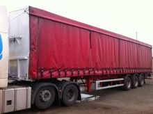 1998 WBS 45FT TRI AXLE CURTAINS