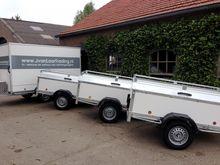Power trailer 750kg Bagagewagen