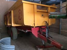 1989 Mullie kipwagen 10 ton tan