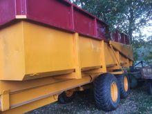 1989 2 Veenhuis kippers 13 ton