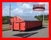 open container met milieu klepp