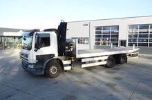 2009 DAF CF75.250 6x2 euro 5 be