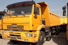 2011 Kamaz BACKSIDE TIPPER 6520