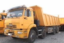 2015 Kamaz BACKSIDE TIPPER 6520