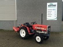 Shibaura P15F Tractor met frees