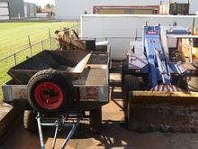 Used Sambron shovel
