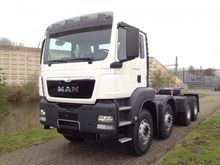 2015 MAN TGS 41.480 8x4 BB-WW E