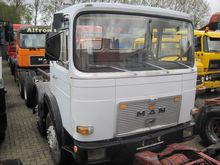 1985 MAN 30.281 8x4 Chassis cab