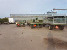 platte wagen 6 mtr 2,20 breed s